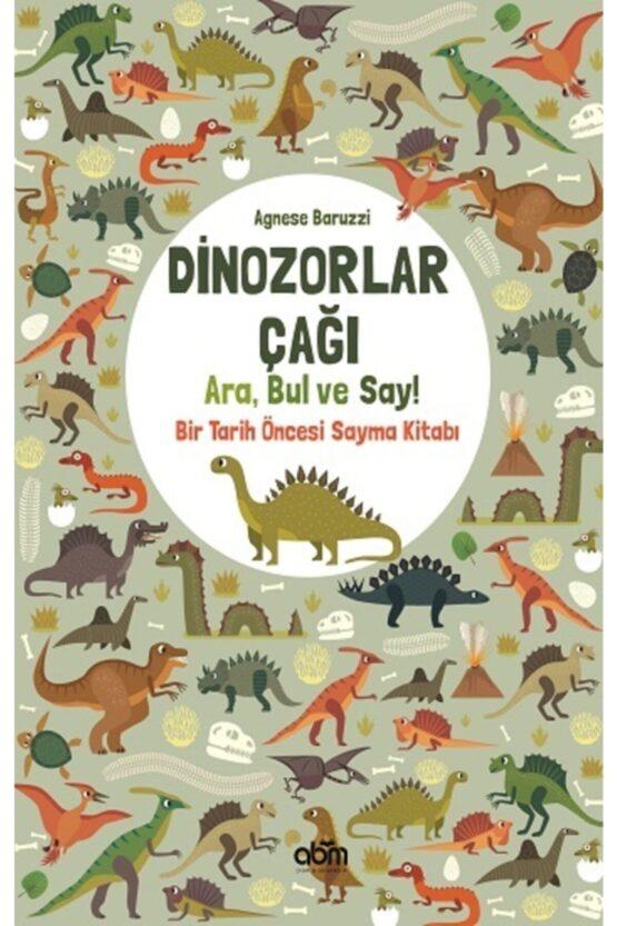 ABM Yayınları-Dinozorlar Çağı Ara Bul ve Say!(Etkinlik Kitabı)