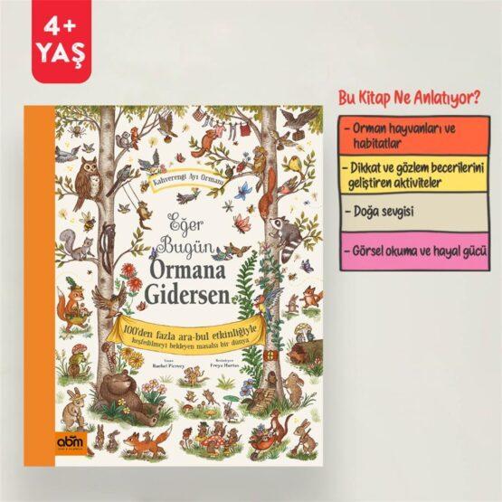 ABM Yayınları-Eğer Bugün Ormana Gidersen(Etkinlik Kitabı)