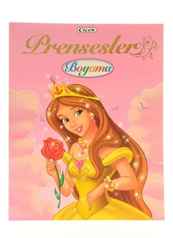 Çiçek Yayınları-Prensesler Boyama Kitabı COD.312-3