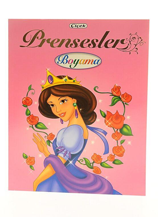 Çiçek Yayıncılık-Prensesler Boyama Kitabı COD.312-2