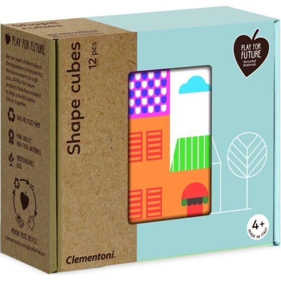 Clementoni-Shape Cubes-Ufuklar COD.16227TR