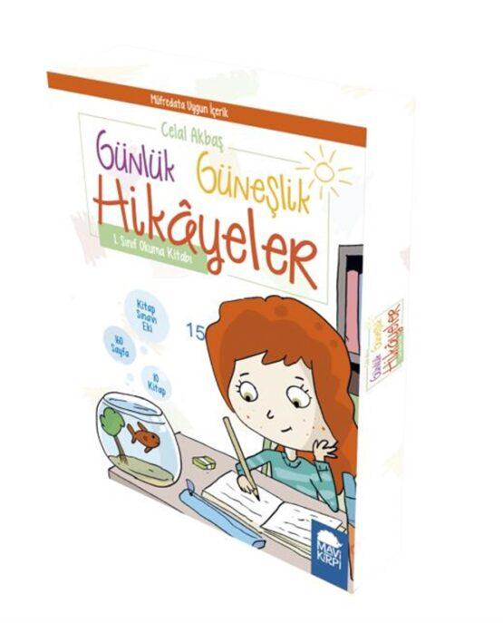 Mavi Kirpi Yayınları-Günlük Güneşlik Hikayeler 1. Sınıf Okuma Seti(10 Kitap)